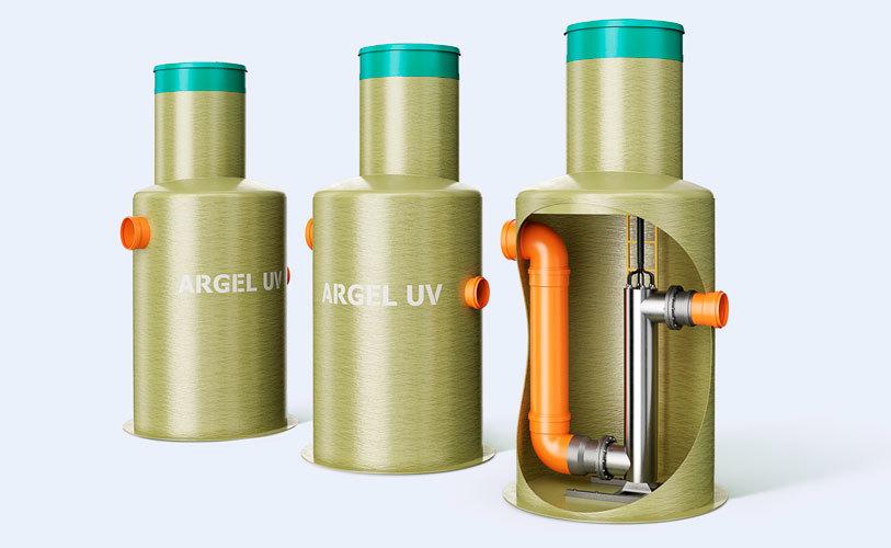 Ультрафиолетовая очистка сточных вод